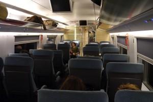 A bordo del TGV
