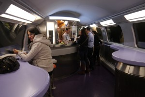 The restaurant car