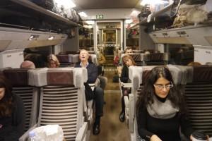 On board Eurostar