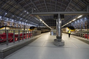 The Eurostar terminal at St Pancras